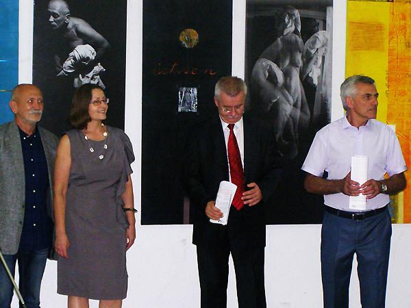 Wystawa prac Marka Wawro we Lwowie