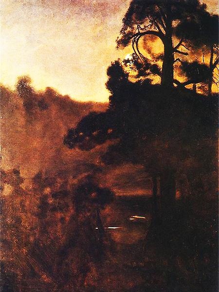Józef Chełmoński, Noc księżycowa (Fot. pinakoteka.zascianek.pl)