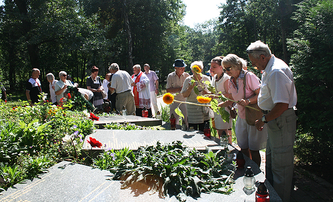 Obchody 72. rocznicy mordu w Czarnym Lesie