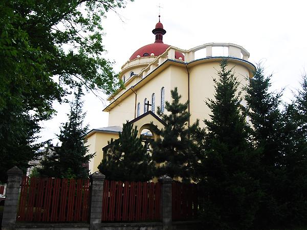 Kościół p.w. Chrystusa Króla (Fot. Konstanty Czawaga)