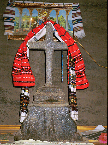 Krzyż solny (Fot. Marcin Marynowski)