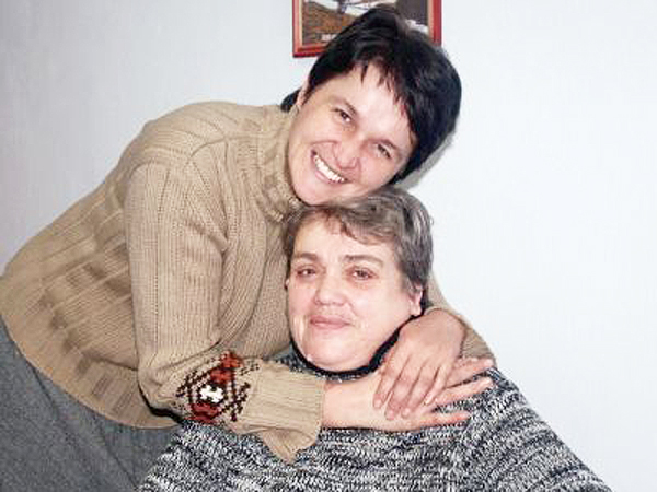 Natalia Tomyn z córką Anną (Fot. Halina Pługator)