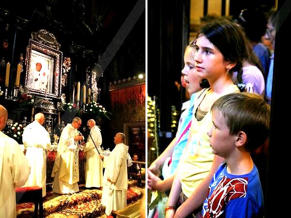 Podczas mszy św. na Jasnej Górze (Fot. Grażyna Bereza)
