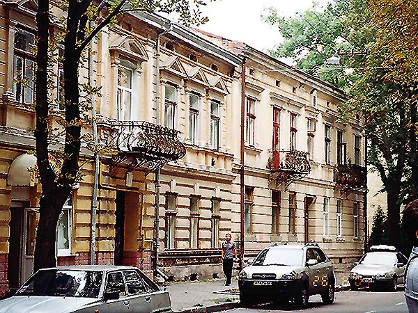 Ulica Kamińskiego w Stanisławowie