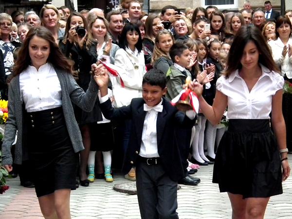 Początek roku szkolnego w szkole nr24