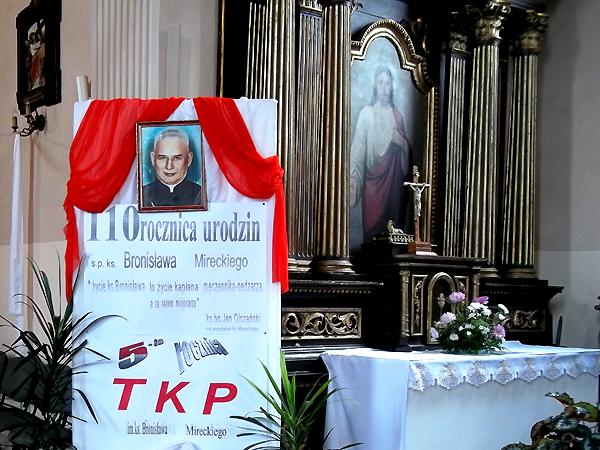110. rocznica urodzin Bronisława Mireckiego