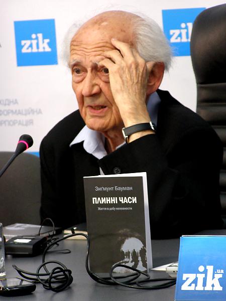 Zygmunt Bauman na Forum Wydawców we Lwowie
