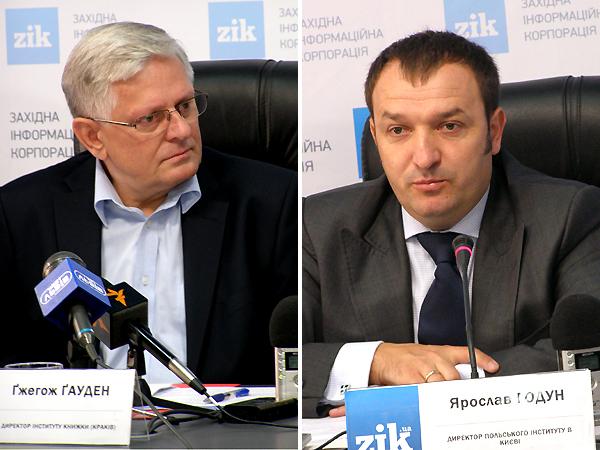 Grzegorz Gauden i Jarosław Godun (Fot. Jurij Smirnow)