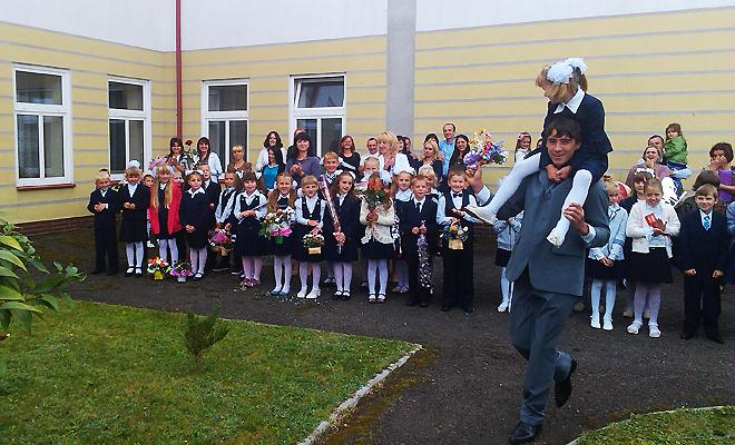 Rok szkolny rozpoczął się w Mościskach