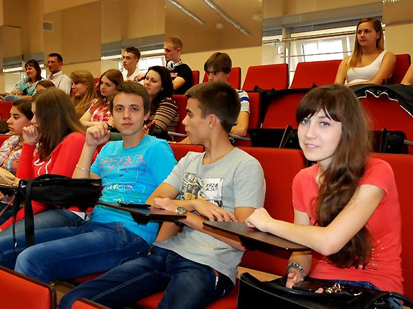 Młodzież z Ukrainy studiuje w Jarosławiu