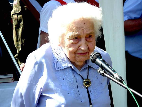 Maria Mirecka-Loryś (Fot. Krzysztof Szymański)