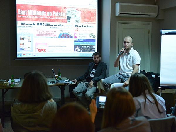 Polonijni redaktorzy poznali słabe i mocne strony witryn internetowych redakcji, które reprezentują (Fot. Oskar Plonka)