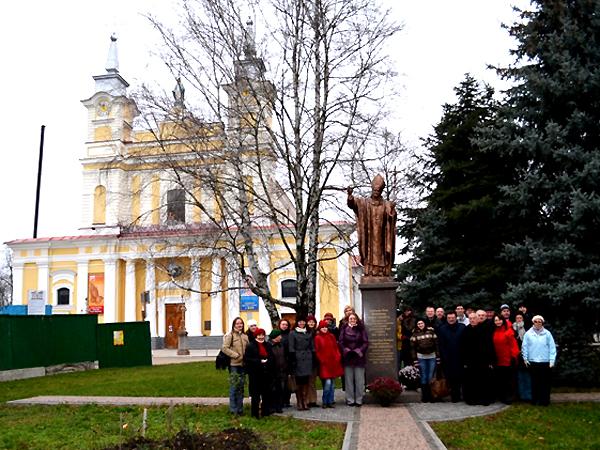 W Żytomierzu, 2012 (Fot. chorkatedry.lwowskabazylika.org.ua)