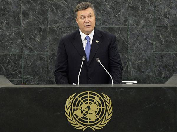 Prezydent Janukowycz: rozwiązanie sprawy Tymoszenko do 21 października