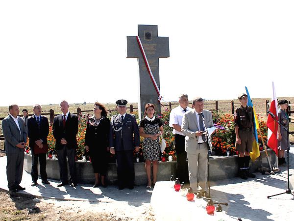 Przemawia konsul RP we Lwowie Marian Orlikowski (Fot. Weronika Sadowa)