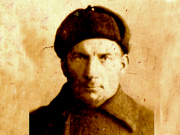 Piotr Szałapaj w łagrze pod Moskwą 1945-1946 (Fot. archiwum rodziny Szałapajów)