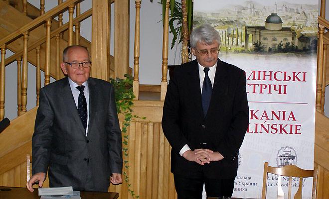 Ossolińskie Spotkanie z prof. Jackiem Purchlą