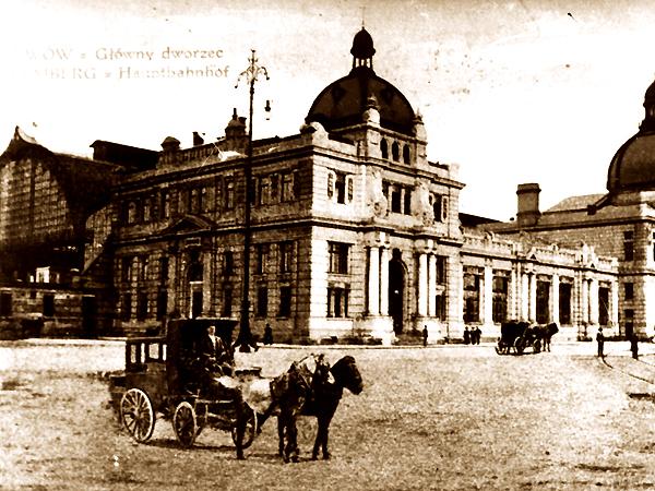 Lwowski dworzec kolejowy