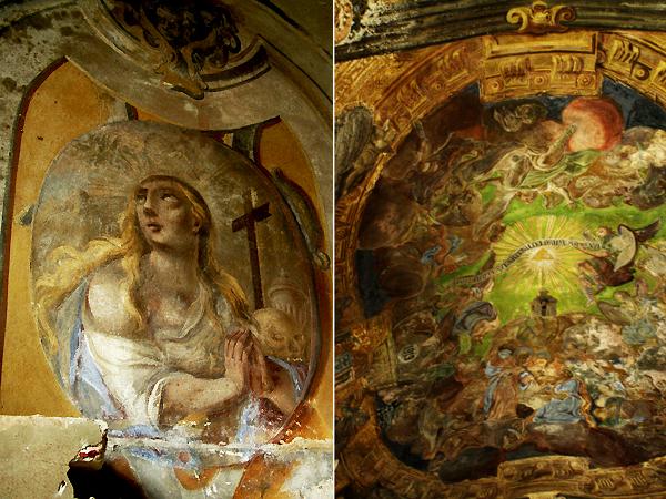 Freski w kościele jezuitów (Fot. Jurij Smirnow)