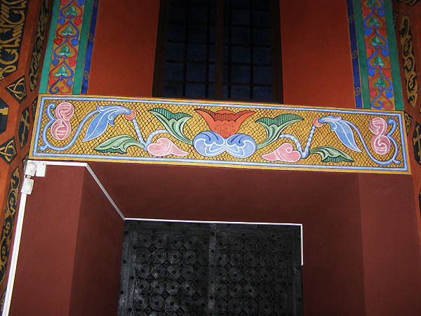 Freski nad wejściem północnym w katedrze ormiańskiej (Fot. Jurij Smirnow)