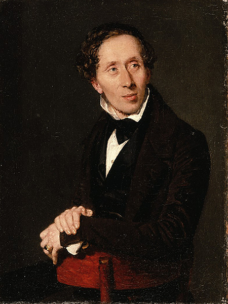 Hans Christian Andersen (Fot. museum.odense.dk)