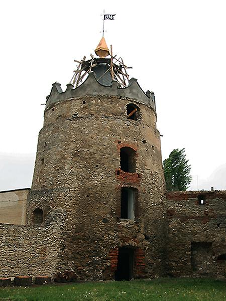 Wieża w Latyczowie będzie służyć jako muzeum (Fot. Dmytro Antoniuk)