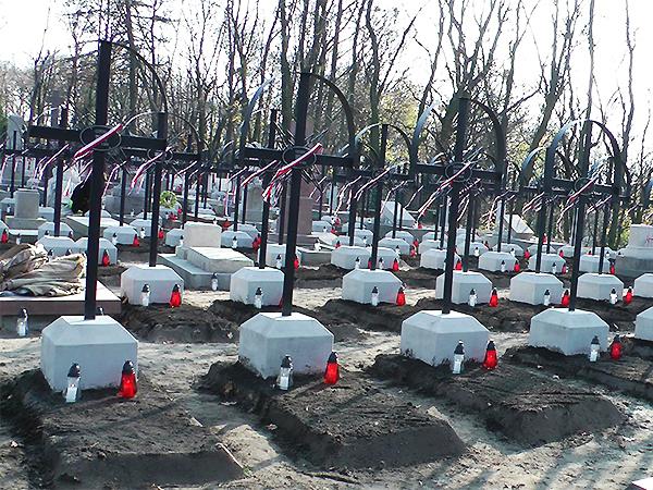 Kwatera powstańców styczniowych na Cmentarzu Łyczakowskim we Lwowie (Fot. Maria Basza)