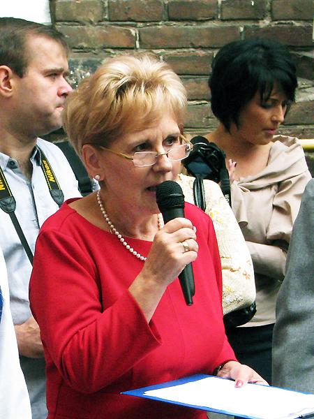 Dyrektor szkoły Marta Markunina (Fot. Julia Łokietko)