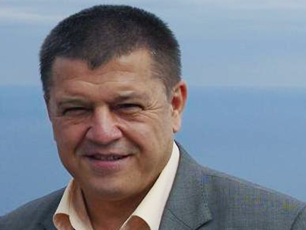 Ali Hamzin, kierownik Oddziału Spraw Zagranicznych Medżlisu Tatarów Krymskich (Fot. Wojciech Jankowski)