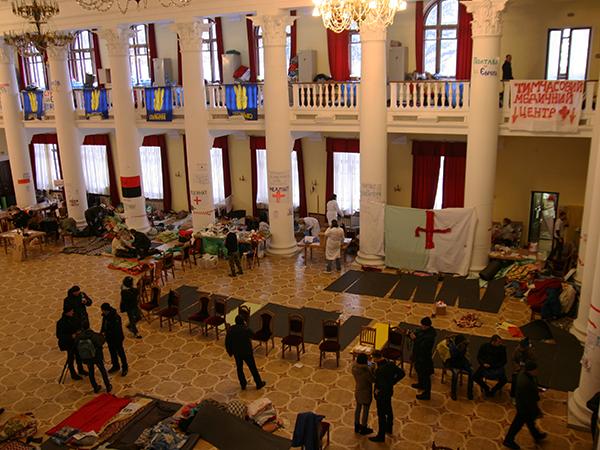 Sala w ratuszu kijowskim (Fot. Dmytro Antoniuk)