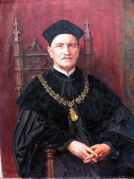 Oswald Balzer, historyk prawa (Fot. z archiwum autora)
