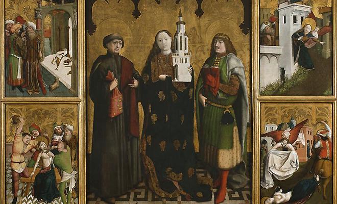 4 grudnia wspomnienie św. Barbary, dziewicy i męczennicy