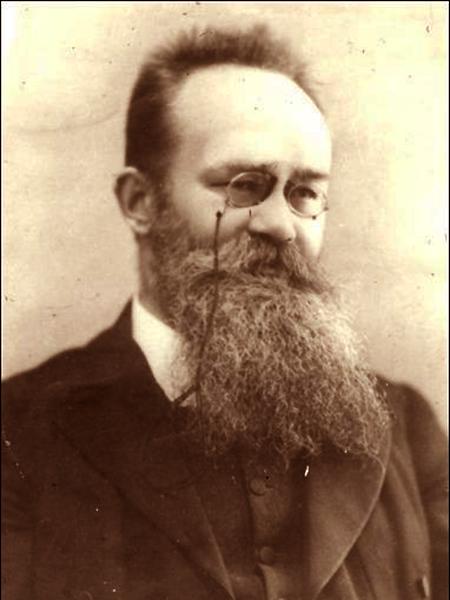 """Mychajło Hruszewskyj (1866-1934), profesor UJK w latach 1894-1914, autor 10-tomowej """"Historii Ukrainy-Rusi"""" (Fot. z archiwum autora)"""