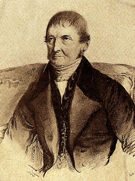Józef Mauss (1778-1856), najpopularniejszy spośród niemieckich profesorów UJK. Wykładał historię (1811-1848) (Fot. z archiwum autora)