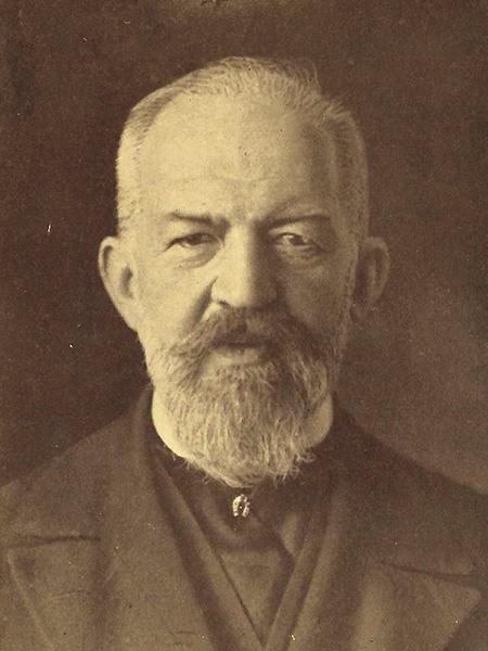 Kazimierz Twardowski (1866-1938), profesor UJK w latach 1895-1938, twórca lwowsko-warszawskiej szkoły filozoficznej (Fot. z archiwum autora)