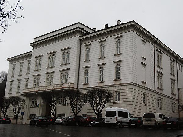 Pałac arcybiskupów łacińskich po remoncie