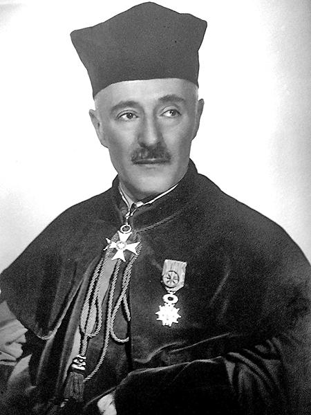 Roman Longchamps de Berier (1883-1941) – ostatni polski rektor UJK (Fot. z archiwum autora)