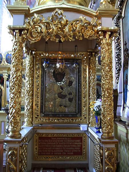 Cudowny obraz Matki Bożej (Fot. Dmytro Antoniuk)