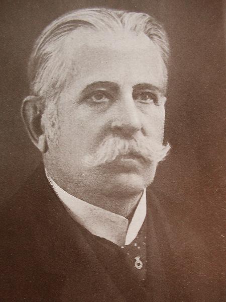 Stanisław Starzyński (1853-1935) jako rektor UJK. Od 1889 r. profesor prawa konstytucyjnego UJK. Poseł do Parlamentu w Wiedniu, propagator Trybunału Konstytucyjnego (Fot. z archiwum autora)