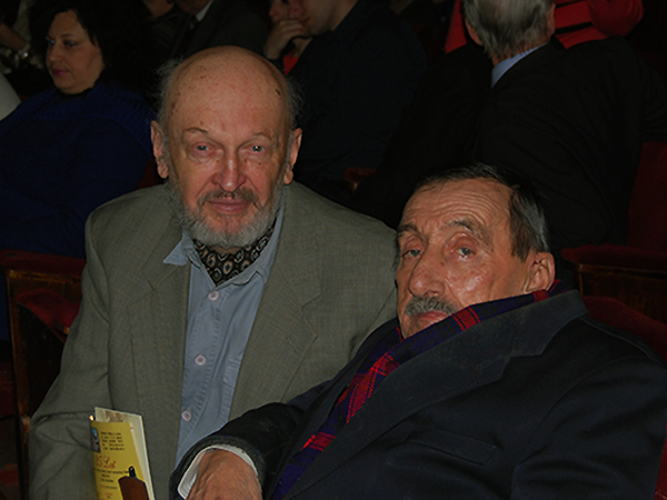 Aleksiej Iutin i Adolf Wisłowski (Fot. Jurij Smirnow)