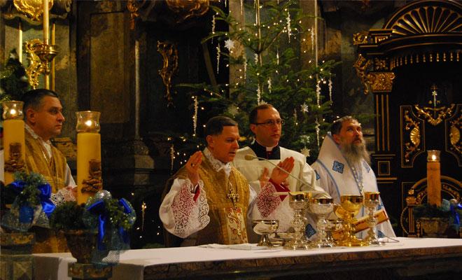 W katedrze lwowskiej