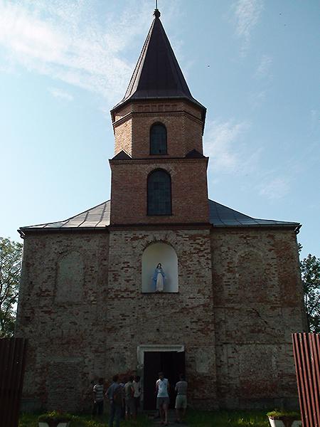 Kościół przed remontem (Fot. ks. Bazyli Pawełko)