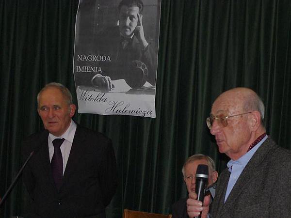 Stanisławowianin laureatem nagrody imienia Witolda Hulewicza
