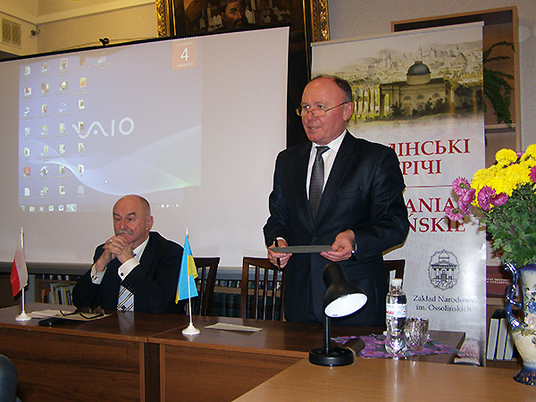 Lwowskie spotkanie z Markiem Budzyńskim