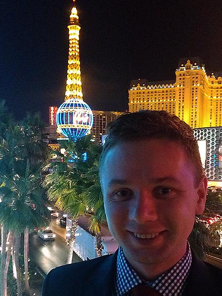 Autor w Las Vegas (Fot. Eugeniusz Sało)