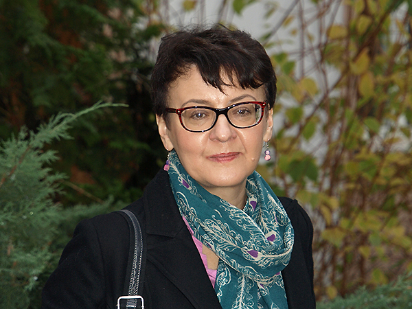 Oksana Zabużko (Fot. Marcin Romer)