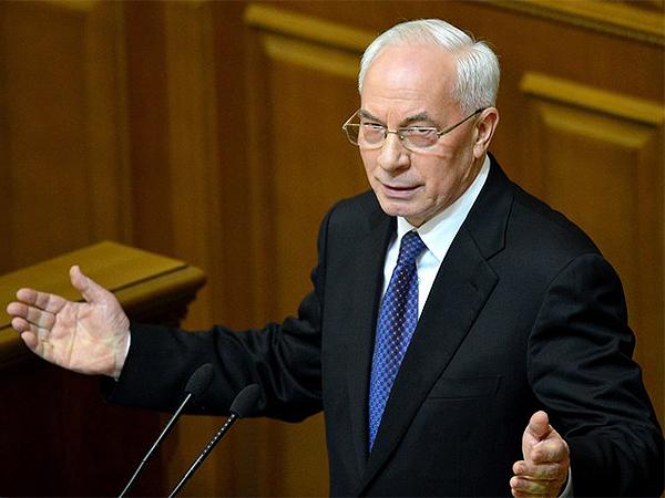 Premier Mykoła Azarow podał się do dymisji