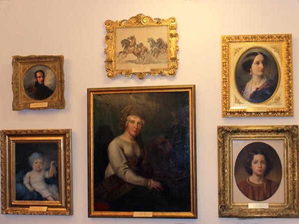 Portrety rodowe Radziwiłłów (Fot. Agnieszka Ratna)