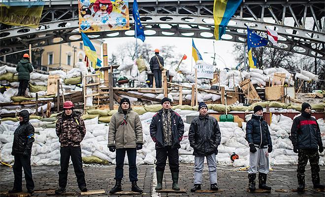 Noc w Kijowie dość spokojna; demonstranci zajęli resort sprawiedliwości