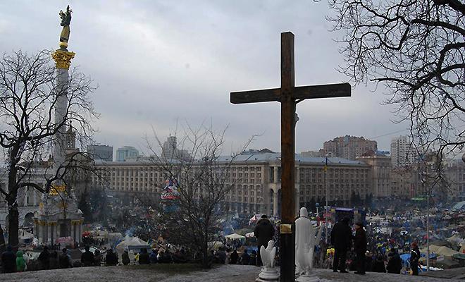 Ukraina: prezydent obiecuje komisję ds. zażegnania kryzysu i negocjacje